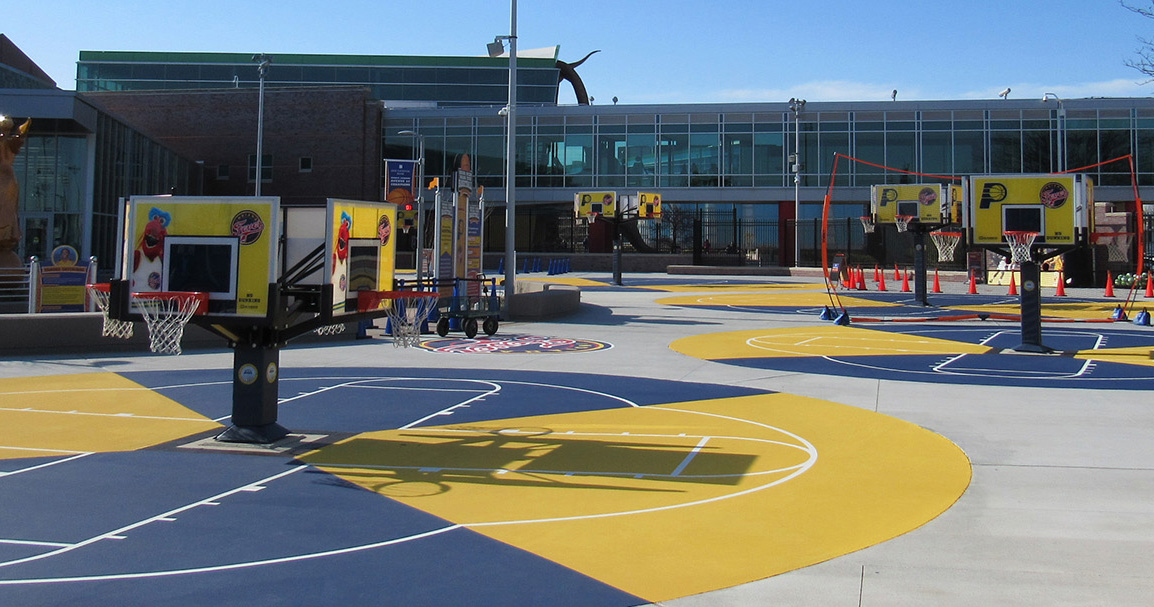 Indianapolis Childrens Museum Basketball Courts