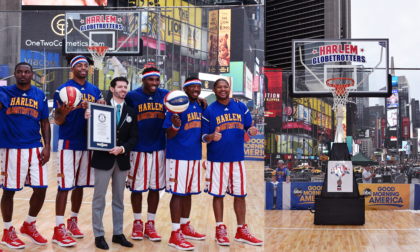 Good Morning America with The Harlem Globetrotters