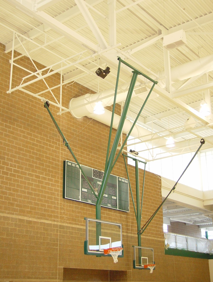 ard folding basketball backstop - HD895×1187