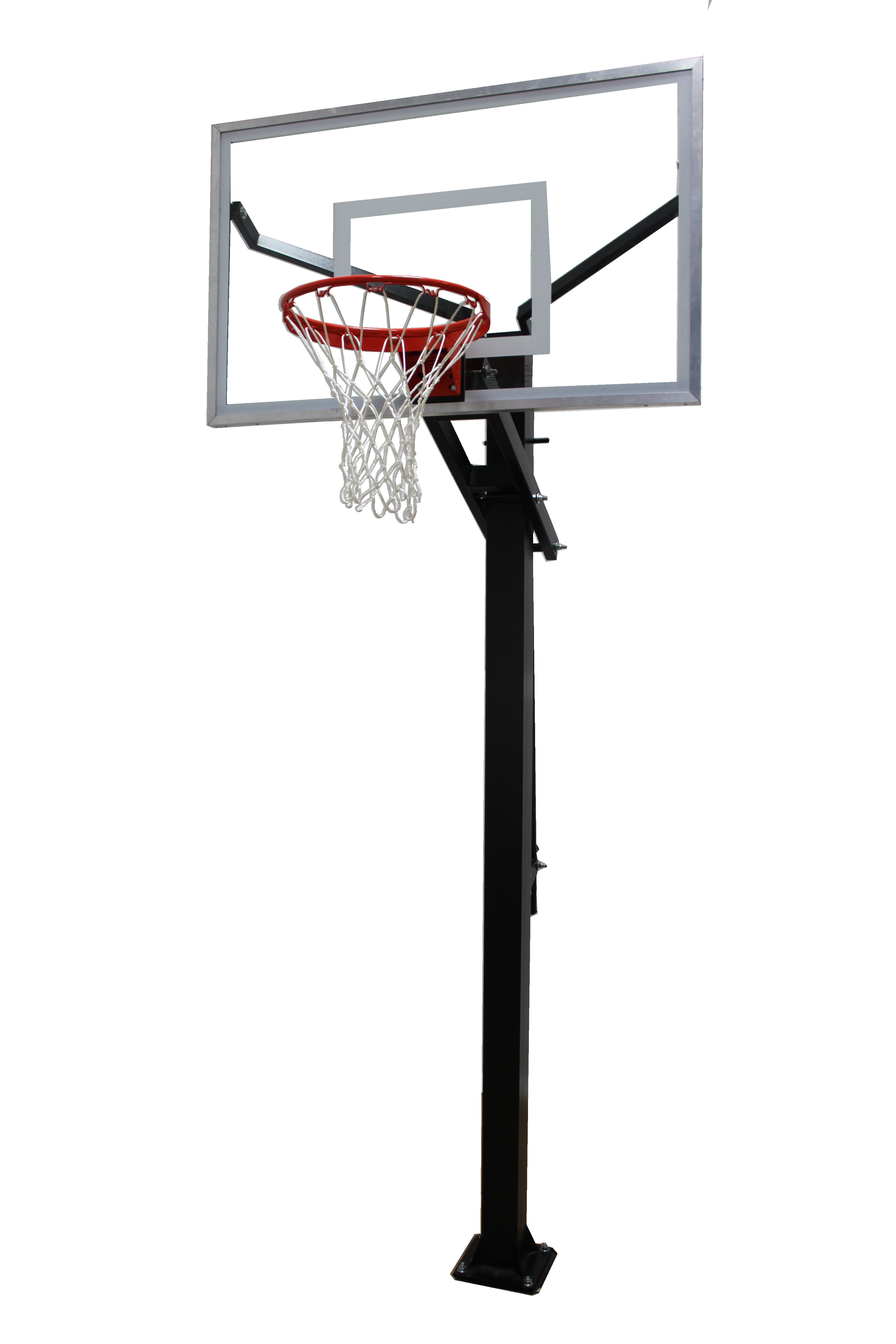 Varsity Jam Adjustable Basketball Hoop with Glass Board  d83a409aaf